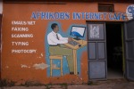 Afrikobs internet cafe in Kabale is a lifeline for entrepreneurial Ugandans. But with just six computers and a single modem business can be slow