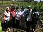 Seeing the benefit of KickStart's projects on farmers in rural Kenya