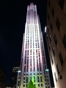 A non-conference-related photo of the Rockefeller Center