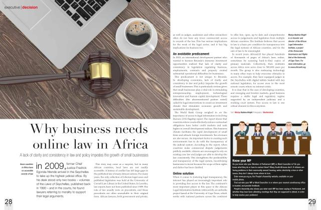 SAA magazine article